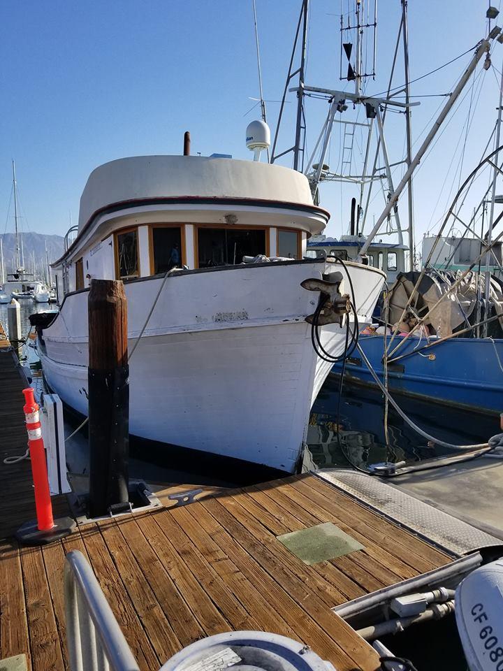 1974 Wahl Commercial Fishing Boat/ Liveaboard Boat only NO SLIP